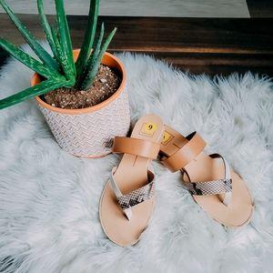 Dolce Vita print sandles